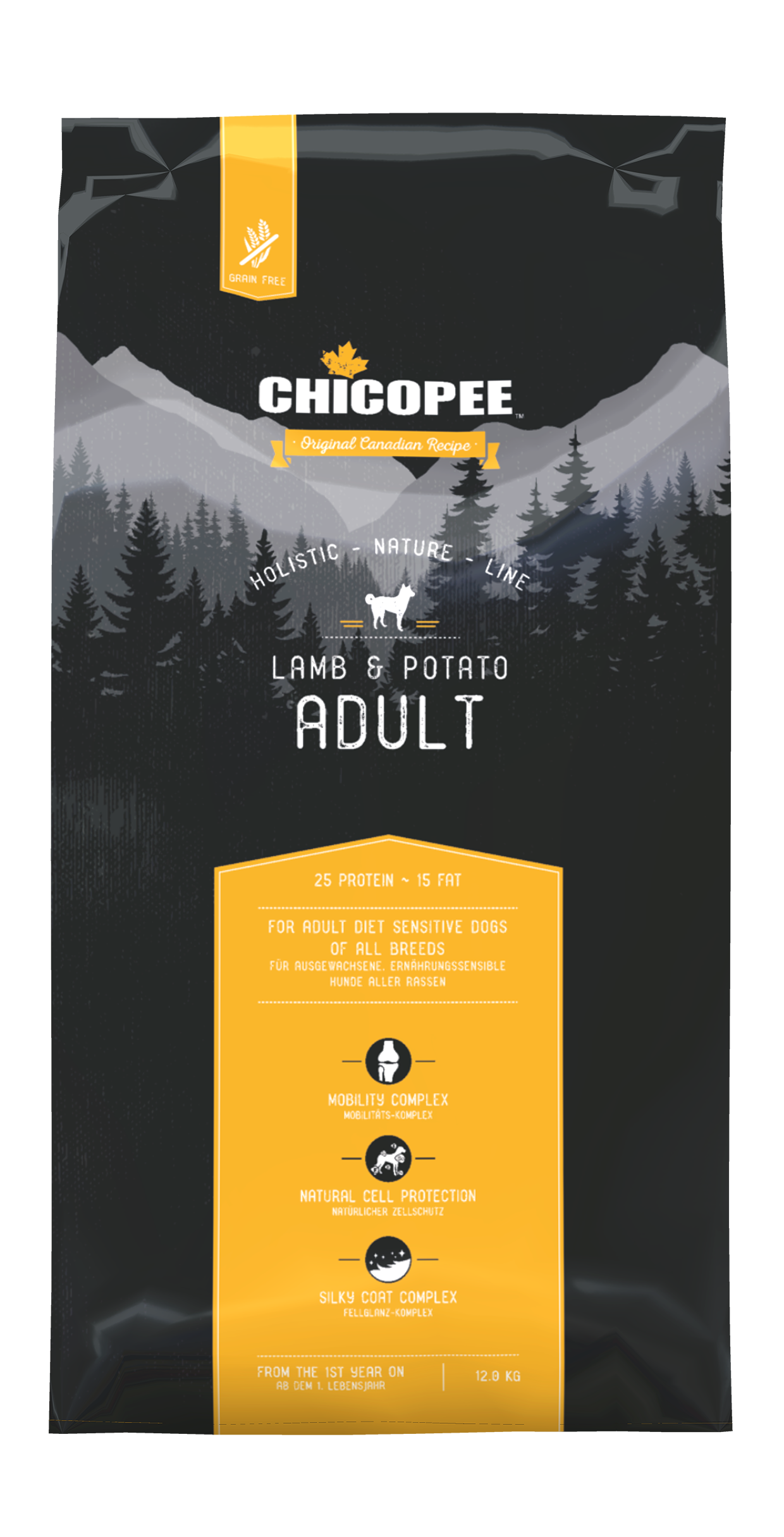 Ghicopee HNL - Grain Free - Adult Lamb & Potato 12kg