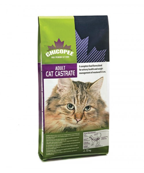 Chicopee Adult Cat Food - Castrate 15kg (Στειρωμένα)