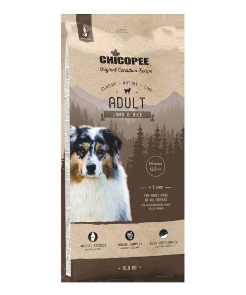 Chicopee CNL Adult Dog - Lamb & Rice 15kg