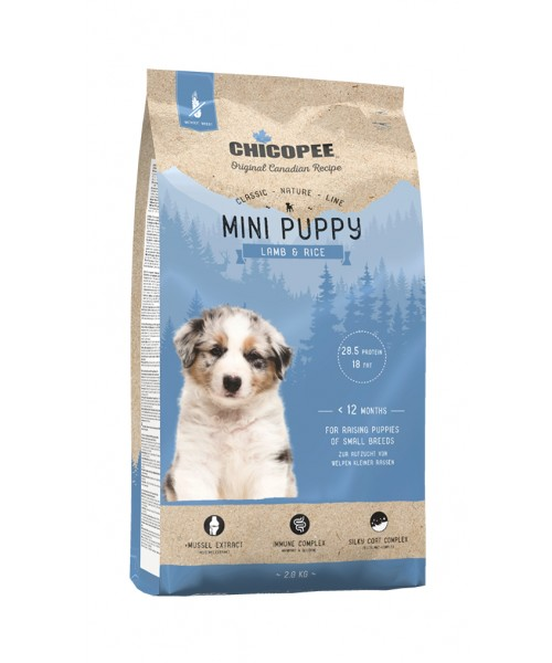 Chicopee CNL Puppy - Mini Breed Lamb & Rice 2kg