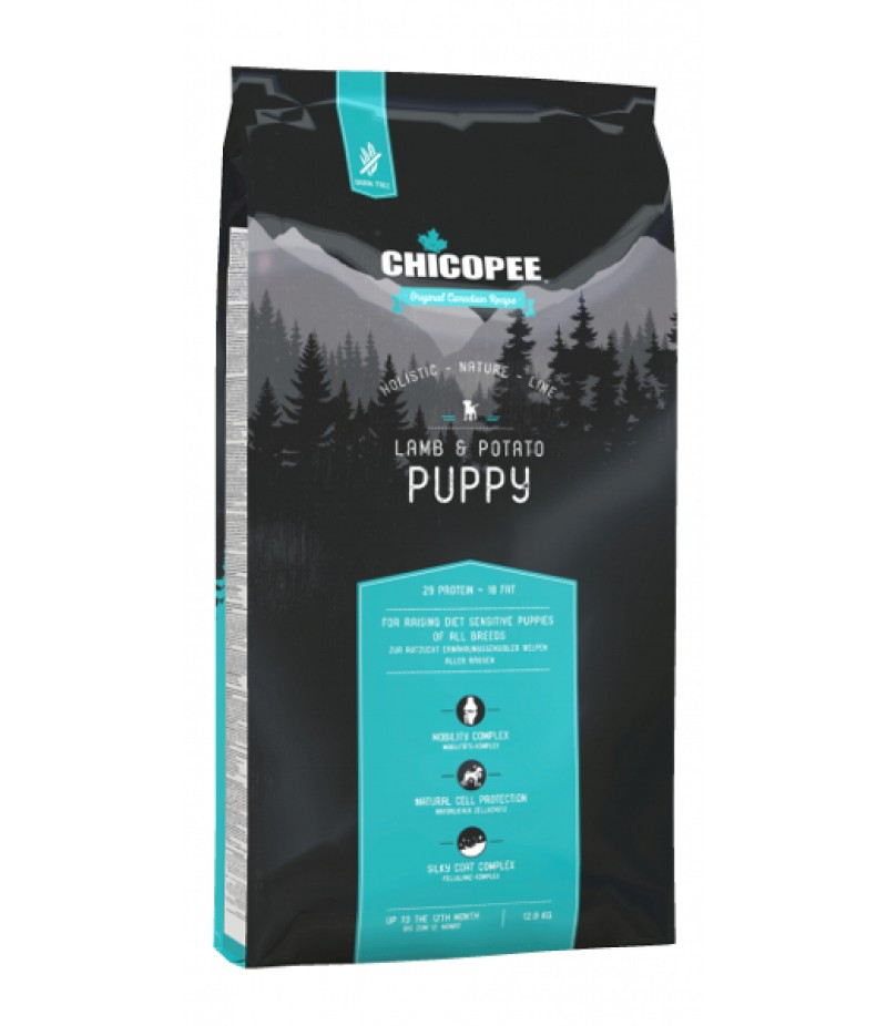 Chicopee HNL - Grain Free - Puppy Lamb & Potato 12kg